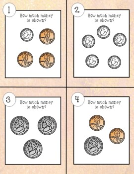 Counting Coins Task Cards--Using QR Codes!