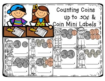 Counting Coins Up To .50¢