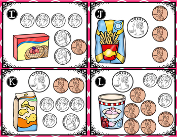 Counting Coins Up to $1.00