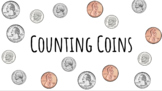 Counting Coins Whiteboard Activity