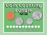 MONEY: Counting Coins Worksheets: Part One