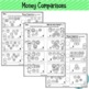 Counting Coins Worksheets ~ Quarters, Dimes, Nickels and Pennies