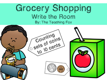 Counting Money {Write the Room}