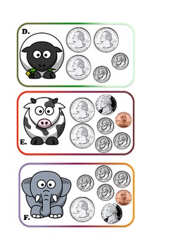 Counting Coins and Comparing to Prices