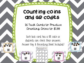Counting Coins and QR Codes