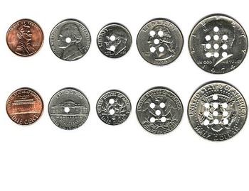 Counting Coins by 5's