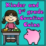 Counting Coins for Kindergarten    #summer2018