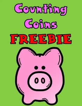 Counting Coins for Kindergarten FREEBIE