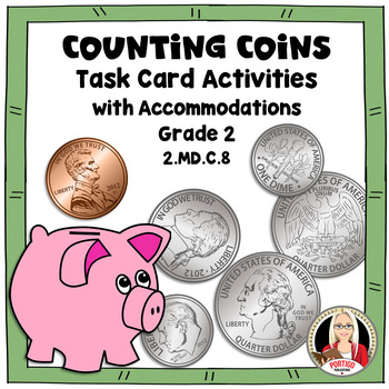 Counting Coins grade 2
