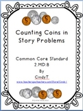 Counting Coins in Story Problems