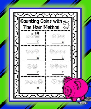 Counting Coins with The Hair Method