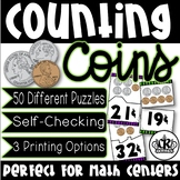 Counting Coins with Values Up To 35 Cents