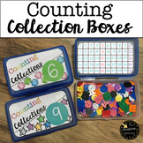 Counting Collection Boxes with Recording Sheets - Build Nu