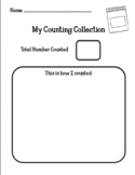 Counting Collection Recording Sheet