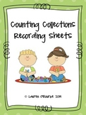 Counting Collection Recording Sheets