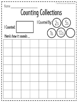 Counting Collection Tools - Build Number Sense