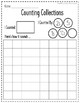 Counting Collection Recording Sheets - Build Number Sense