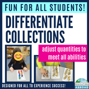 Counting Collections: 10-Frame lesson plan, resource and assessment pack