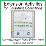 Counting Collections Extension Activities for Number Sense