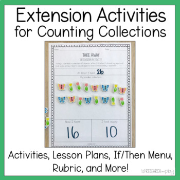 Counting Collections Set for Primary Classrooms
