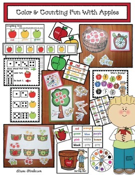 Counting & Color Fun With Apples