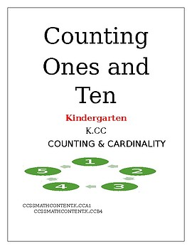 Counting, Common Core Aligned