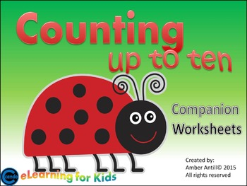 Counting Companion Worksheets and Printable activities