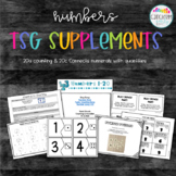 Counting /Connects numerals to quantities / TSG 20a & 20c