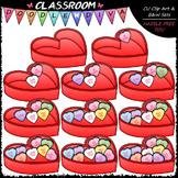 (0-10) Counting Conversation Hearts - Sequence, Counting &