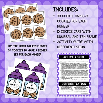 Counting Cookie Jars--A Number Sense Game
