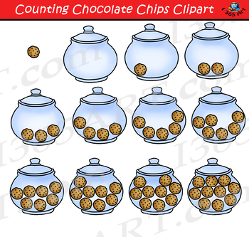Counting Cookies Clipart