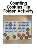 Counting Cookies File Folder Fun