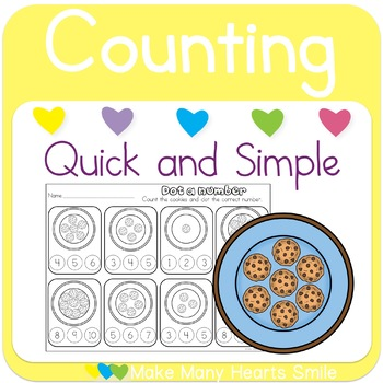 Counting Cookies to 10