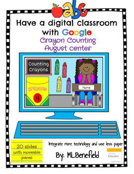 Counting Crayons - August Center (in Google: Digital and Interactive)
