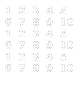 """Counting Crocs"" activities"