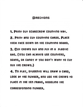 Counting Crows Counting Game