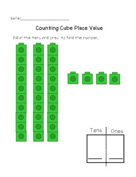 Counting Cube Math
