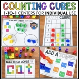 Counting Cubes 1:1 Centers for Distance Learning