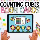 Counting Cubes Boom Cards™ | Tens and Ones