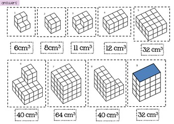 Counting Cubes: Volume of Cuboids