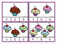 Counting Cupcakes 0-20  -  Clip Cards