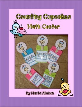 Counting Cupcakes - Counting Math Center with Ten Frames