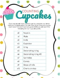 Counting Cupcakes - Multiplication Facts with Incentives