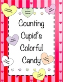 Counting Cupid's Colorful Candy - Math with Sweetheart Candies