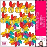 Counting Daisies clip art - by Melonheadz Clipart