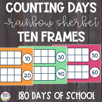 Counting Days of School: Ten Frames