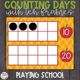Counting Days of School | Ten Frames | Elementary School Theme