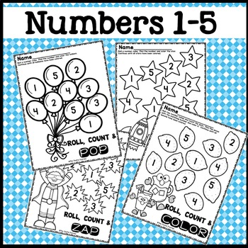 Counting Dice Roll Activities