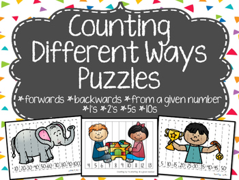 Counting Different Ways Puzzles