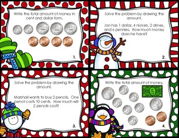 Counting Dimes, Nickels, Pennies, and Dollars